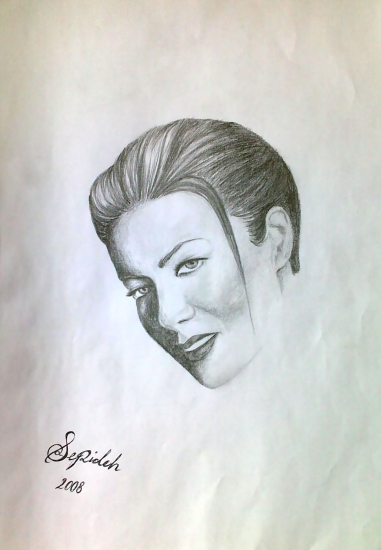 Carmen Electra by 3pde